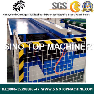 Automatic Fully Paper Honeycomb Complete Laminating Line pictures & photos