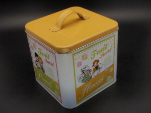 Handbag Gift Tin Box for Candy/Chocolate/Cookie/Food Storage