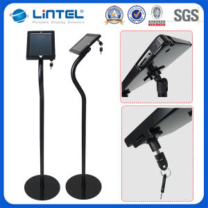 Metallic iPad Display Stand with Lock Enclosure (LT-13H1) pictures & photos