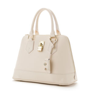 Trendy Fashion Small MOQ Ladies Leather Tote Handbags (9117) pictures & photos
