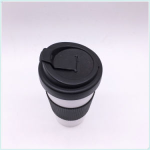 BPA Free Plastic Reusable Coffee PP Mug with Lid pictures & photos
