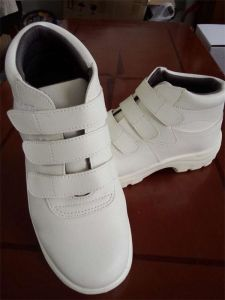Anti-Static Cleanroom White Safety Shoes