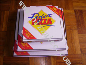 Locking Corners Pizza Box for Stability and Durability (CCB052) pictures & photos