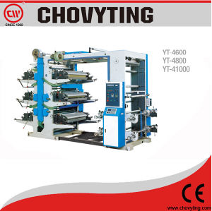 Roll to Roll Six Color Plastic Bag Printing Machine pictures & photos