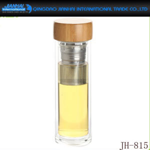 New Design Glass Accompany Bottle for Beverage pictures & photos