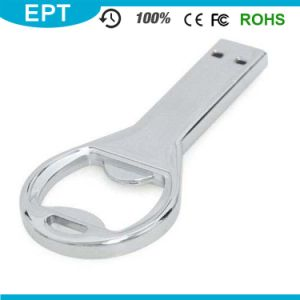 Customized Logo Key Shape Bottle Opener USB Flash Drive for Free Sample pictures & photos