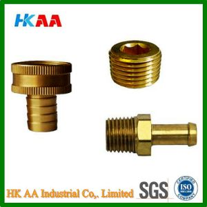 Brass Hose Barb Fitting Precision Brass Hydraulic Hose Fitting Hose Screw Fittings Hose Couplings Garden Hose Fitting pictures & photos
