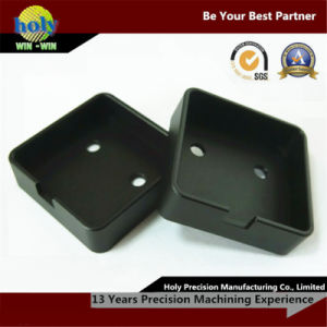 Black Anodize Precision CNC Machining Aluminum Machined Electronic Case pictures & photos