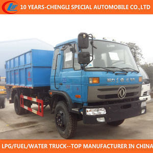 10cbm 12cbm Hydraulic Hook Lift System Garbage Truck pictures & photos