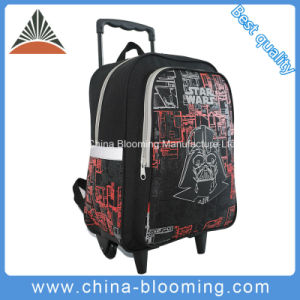 Students Rolling Backpack Star Wars Trolley Wheeled School Bag pictures & photos