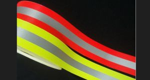 High Luster Reflective Warning Tape, Factory for Ningbo, China pictures & photos