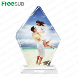 Freesub Sublimation Photo Crystals Wedding Decoration Gifts (BSJ10B) pictures & photos