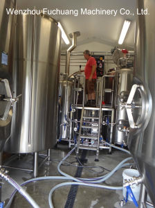 Stainless Steel Jacketed Brew Kettles Brewhouse pictures & photos