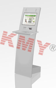 Slim Design Public Touch Screen Information Kiosk Machine pictures & photos
