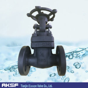 Forged Steel Globe/ Gate Valve in A105/ Lf2 Material pictures & photos