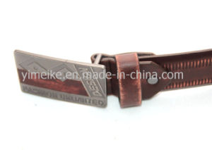 Fashion Style Low Price Wholesale Original Men′s Stock PU Belts pictures & photos