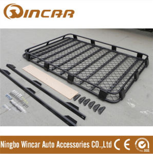Black Universal Car Top Roof Rack Cargo Luggage