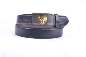 Gun-Black Plated Buckles Casual Original PU Belt for Man pictures & photos