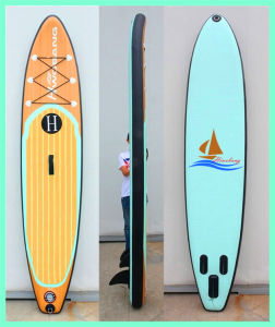 Wooden Stand up Paddle Board, Inflatable Sup with Drop Stitch pictures & photos