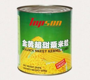425g Canned Golden Sweet Kernel Corn with Best Quality pictures & photos