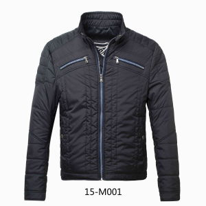 Men Quilted Winter Bomber Jacket (jk04006) pictures & photos