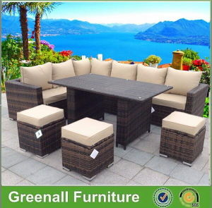 New Design Patio Wicker Rattan Furniture Dining Outdoor Furniture pictures & photos