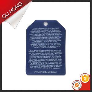 Top Quality Custom Garment Clothing Paper Hang Tags