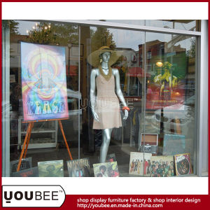 Vividly Female Fiberglass Mannequin for Shop Window Display pictures & photos