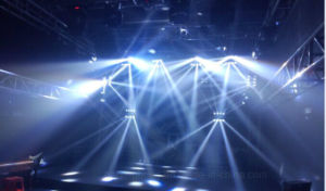 8*10W LED Moving Head Beam Light for Stage Effect (HL-015YT) pictures & photos