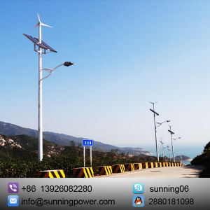 Ce Certificated Solar Wind Power Generator for Lighting and Monitoring