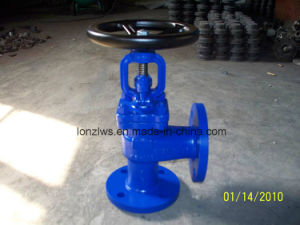 DIN Standard Angle Type Globe Valve pictures & photos