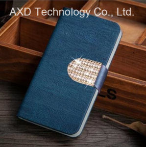 The New Leather Wood Lines Phone Case for Lenovo A319