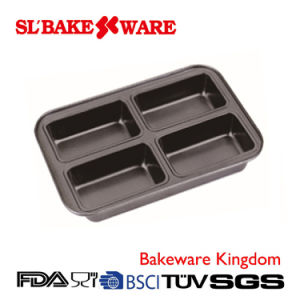 4 Cup Lamintong Pan Carbon Steel Nonstick Bakeware (SL-Bakeware) pictures & photos