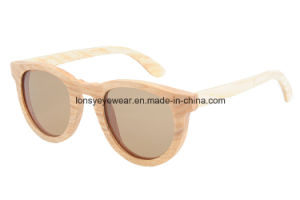 Wood Sunglasses with Tac Brown Polarized Lens (GA217-3)