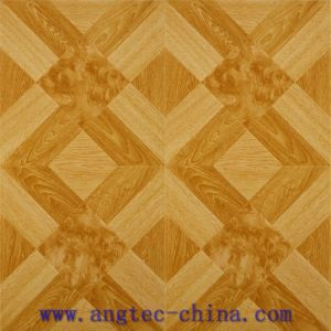 Art Surafce HDF Handscraped Parquet Laminate Flooring pictures & photos