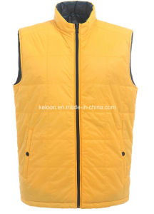 Mens Fake Down Vest