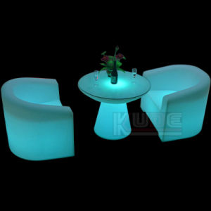 Bar Furniture LED Outdoor Bar Stool LED Cube Chair pictures & photos