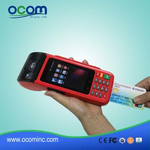 Touch Screen Handheld POS Payment Terminal with Printer Card Reader pictures & photos