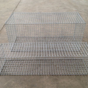 Zhuoda Brand Welded Gabion Stone Cage Made in China pictures & photos