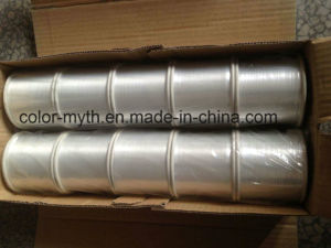 "M Type Metallic Yarn Polyester Yarn 15mic, 1/100"" for Fancy Yarn Transparent"