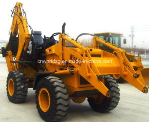 Loader Backhoe with 100HP Cummins Engine pictures & photos