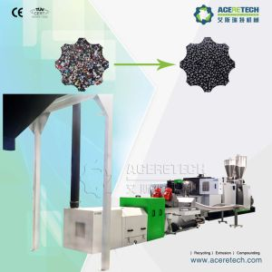 Full Automatic Single Screw Waste Plastics Recycling Granulating Machine pictures & photos