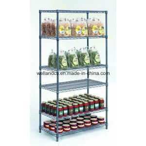 NSF Approval Gondola Store Metal Storage Rack with 6 Shelves pictures & photos