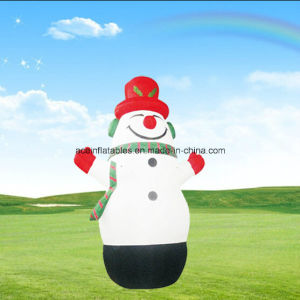 Hot Sale Advertising Giant Snowman Inflatable Cartoon