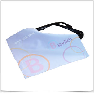 Digital Tranfer Printing Sunglasses Cleaning Cloth pictures & photos