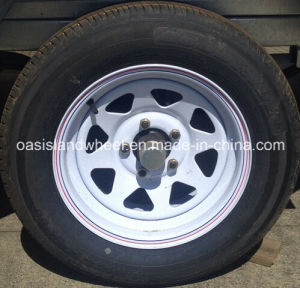 Lt235/75r15 Light Truck Tyre with Rim 15X6 for Camper Trailer pictures & photos