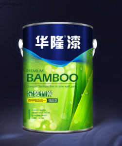 Hualong Bamboo Charcoal Eliminate Aldehyde Building Interior Paint pictures & photos