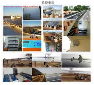 Hots Sale Solar Power System / Inverter / Controller / Charger / Battery pictures & photos