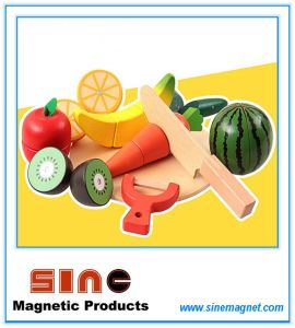 Wooden Magnetic Fruit&Vegetables Cutting Toy/Educational Toy pictures & photos