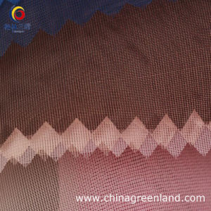 100%Polyester High-Density Yarn Organza Fabric pictures & photos